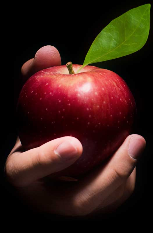 tempting-red-apple